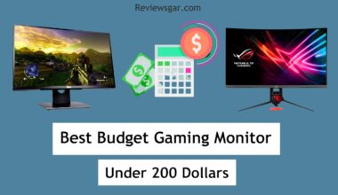 Budget Gaming Monitor Under 200