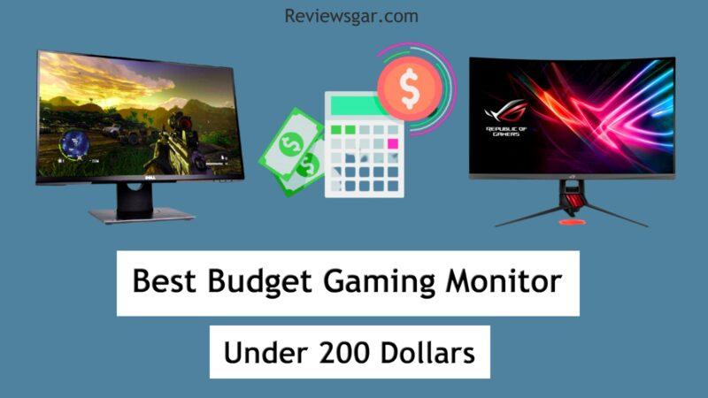 Budget Gaming Monitor Under 200